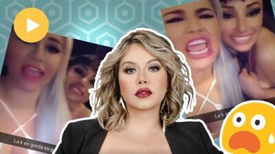 """(Video) """"Aunque sea hija de Jenni Rivera, vale p%*a v3$g4"""": los insultos de Claudia Galván a Chiquis Rivera"""