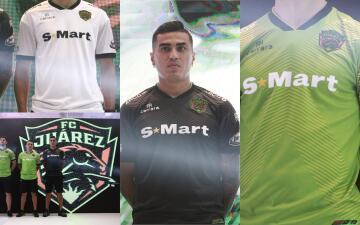 Así serán los uniformes de los Bravos de Juárez en su debut en la Primera División