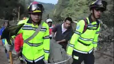 Un deslave azotó Guatemala durante la madrugada