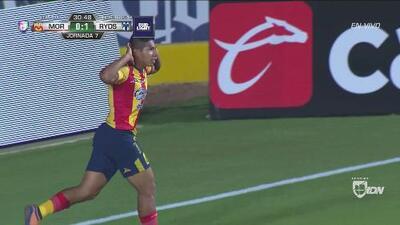 Monarcas se adelantó en el marcador, pero Monterrey sacó al final el 2-2 gracias a Funes Mori