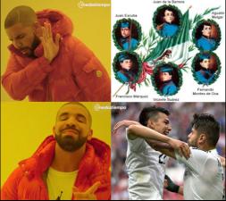 'Chucky' y Osorio protagonizaron los memes del triunfo de México sobre Rusia