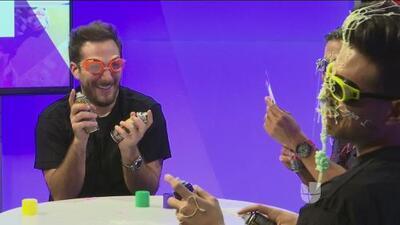 Sebastián Zurita, Vadhir Derbez y Luis Sandoval se divirtieron como '3 Idiotas'
