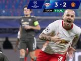 Leipzig derrota al Manchester United y lo echa de la Champions League