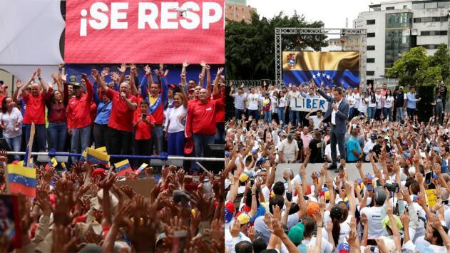 Tensión en Venezuela por nuevas protestas a favor y en contra de la salida del país de la OEA