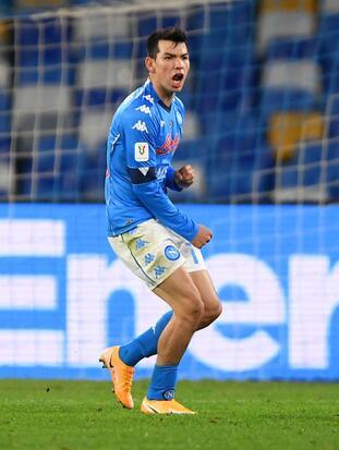 Di Lorenzo (18'), asistido por el mexicano adelantaba a los de Gattuso. Bajrami (33') igualó el marcador, pero el 'Chucky' (38') regresaba la ventaja al Napoli. Nuevamente Bajrami (68') emparejaba hasta que apareció Petagna (76') para hacer el del triunfo.
