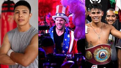 Tres hombres quieren la corona de Canelo en septiembre