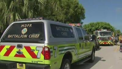 Un automóvil explota dentro de una vivienda en Miami-Dade