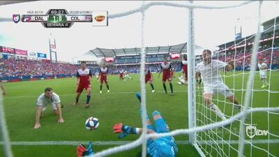 El VAR y Colorado Rapids empatan 1-1 a Dallas con un polémico gol de Tommy Smith