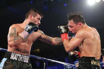 Matthysse y Provodnikov dieron pelea del año