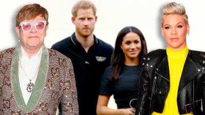 Por primera vez celebridades de varias partes del mundo salen en defensa de Meghan Markle y el príncipe Harry