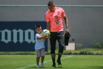 Las lecciones de Nicolás Castillo a su hijo previo al duelo contra Cruz Azul en Liguilla