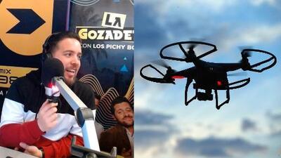 Drones voladores comerciales hechos en China podrían estar compartiendo tu data