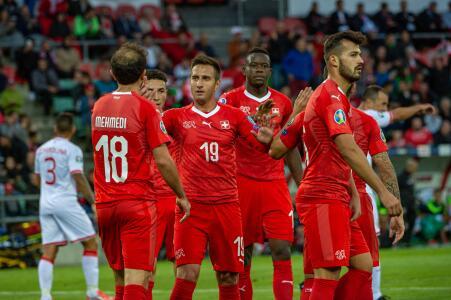 Suiza 4-0 Gibraltar - Resumen - Grupo D - Clasificatorio Eurocopa 2020