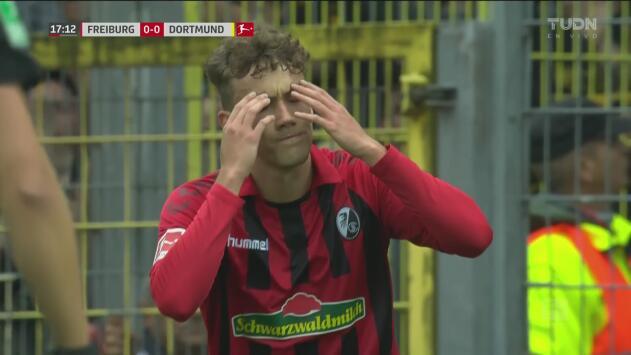 ¡¿Pero qué hizo Waldschmidt?! Friburg se pierde el primero