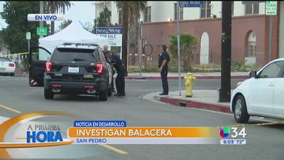 Balacera dejó sin vida a un hombre en San Pedro
