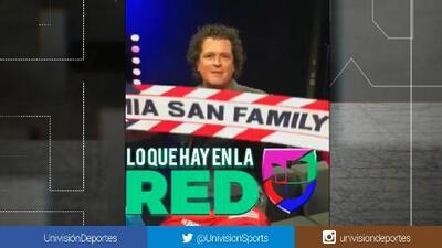 """Carlos Vives, orgulloso de James Rodríguez y la """"familia"""" del Bayern de Múnich"""