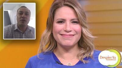 Conmovida al ver a su esposo en TV, Lindsay Casinelli contó cómo fue que el amor llegó cuando menos lo esperaba