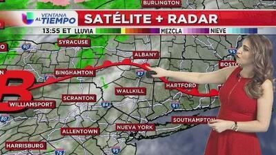 Ventana al Tiempo: Nueva York se alista para un domingo pasado por lluvias