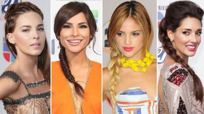 15 famosas que aman las  trenzas