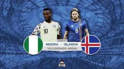 Islandia va por una victoria ante Nigeria que deje KO a Argentina