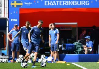 En fotos: Suecia se juega todas sus canicas ante México para avanzar a octavos