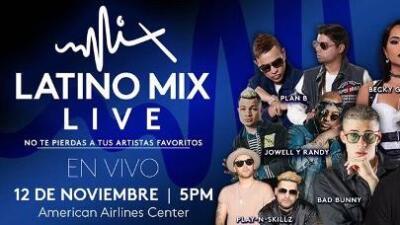 Gana Boletos para Latino Mix Live con Noticias 23 y La Tentación de Ganar