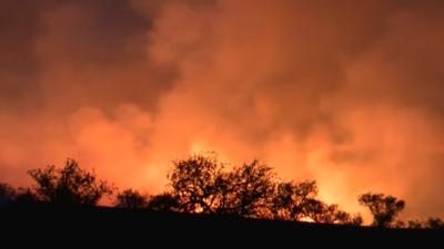 Agente fronterizo hizo una fiesta para revelar el sexo de su bebé y acabó provocando un incendio que arrasó 47,000 acres