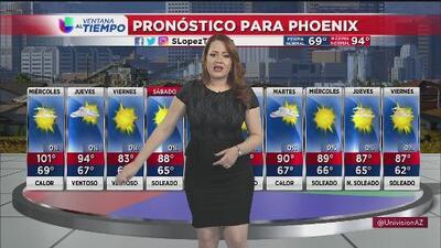 Continúan las altas temperaturas en Arizona