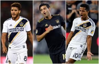 Tres de los mexicanos en la MLS están en el Top 20 de los salarios más altos en esta temporada