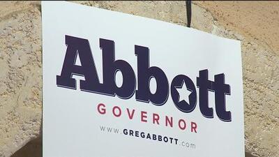 Simpatizantes de Greg Abbott se reúnen en la capital estatal en apoyo a su reelección