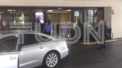 'Tuca' Ferretti abandonó hospital tras percance automovilístico