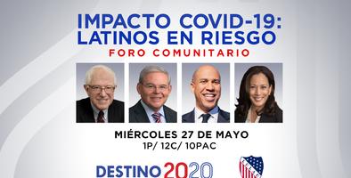 Univision y LULAC te invitan al foro comunitario, Impacto Covid-19: Latinos en riesgo
