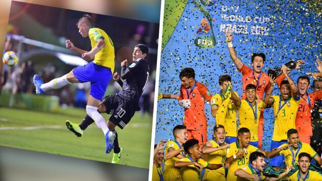 """""""Nos robaron el juego"""" y #NoEraPenal: La Bronca y Gorritas protestan por la derrota de México ante Brasil en el Sub-17"""