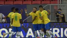 Brasil derrota a Venezuela en el arranque de la Copa América