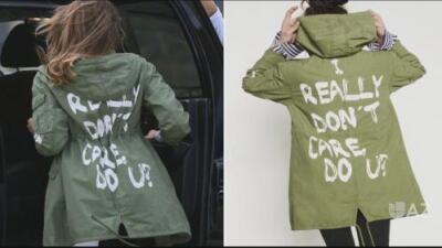 Marcas de moda responden a Melania Trump