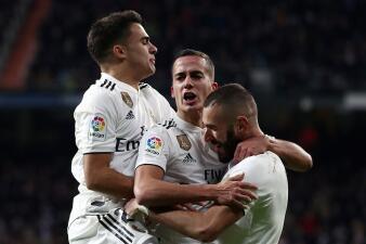 En fotos: Real Madrid triunfa sobre el Valencia y no quiere despegarse de los primeros lugares
