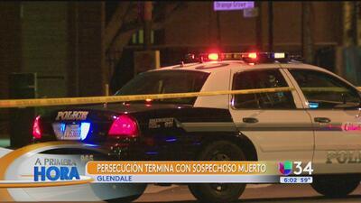 Roba un auto patrulla y fallece en balacera con la policía tras una peligrosa pesecución