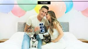 Raúl Gudiño da una gran noticia: será papá