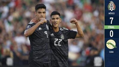 En 'modo aficionado', el Tri ganó, gustó y goleó en el debut de Copa Oro