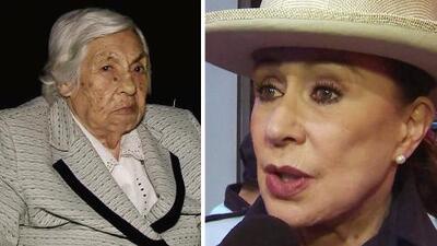La abuelita de Thalía y Laura Zapata mañana cumple 99 años, pero dice que ya quiere descansar