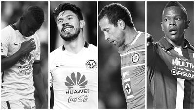 Oribe Peralta y Darwin Quintero, entre los jugadores que no debes elegir para la Jornada 8
