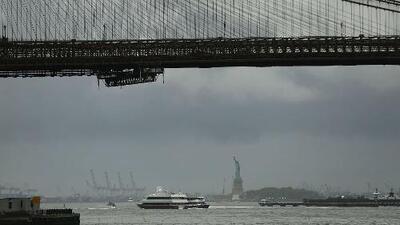 Fuertes aguaceros y descargas eléctricas para comenzar la semana en Nueva York