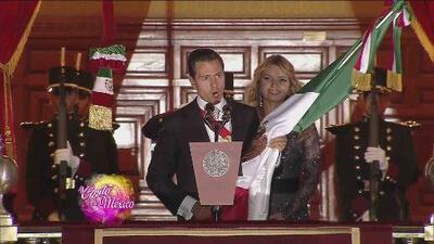 Así se vivió el Grito de Independencia, en el Zócalo de la Ciudad de México