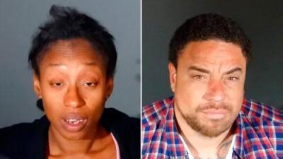 Fiscalía asegura que una pareja metió el cadáver de su bebé en una maleta y lo tiró en un bote de basura