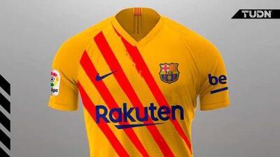 Barcelona presentó una nueva playera para esta temporada