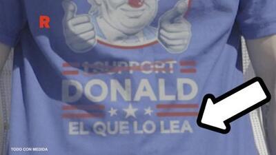 El 'troleo' a Trump de una cervecera mexicana: vendieron camisetas a sus seguidores para organizar una fiesta