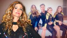 Issabela Camil sufrió dolores de cabeza y estómago por los problemas de Sergio Mayer y sus hijas