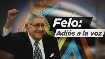 Sentido adiós a Felo Ramírez, la voz de los Marlins