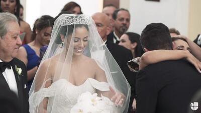 Video exclusivo de la boda de Aleyda: lágrimas de emoción, besos y fiesta