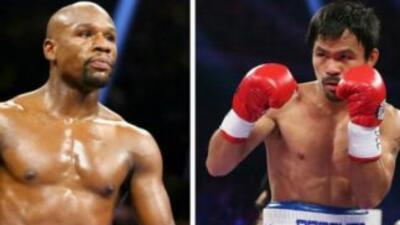 Televisoras llegan a acuerdo para transmitir Mayweather Jr. vs. Pacquiao